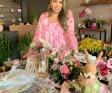 Bárbara Conrado a criadora da Boutique das flores, Viva Flora!